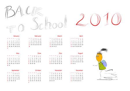 Back to school 2010  Vector