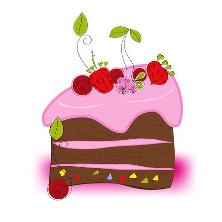 Cake Stock Vector - 6436075