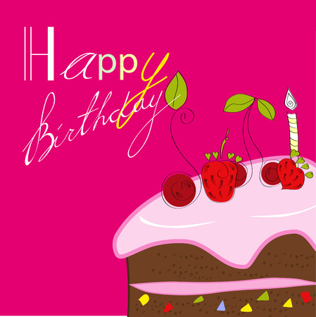 Birthday card Stock Vector - 6436060