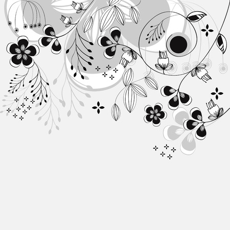 Template for decorative card Stock Vector - 6512331
