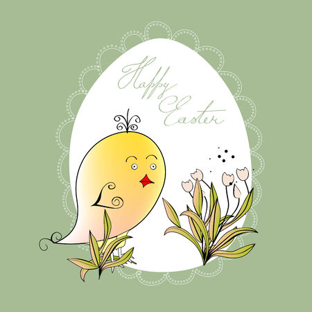 Easter card Stock Vector - 6548541