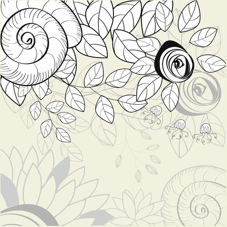 Floral background Stock Vector - 6548536