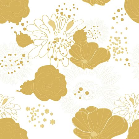Floral seamless pattern Stock Vector - 6659666