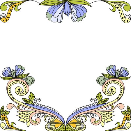 Template for decorative background Stock Vector - 6659762