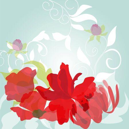 Light spring background Vector