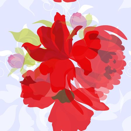 Colorful summer seamless wallpaper  Stock Vector - 6781599