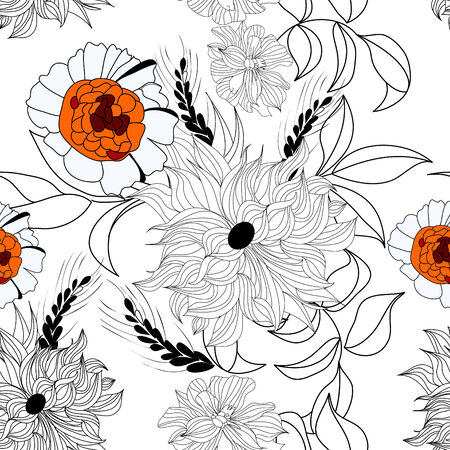 Floral seamless pattern Stock Vector - 6781712