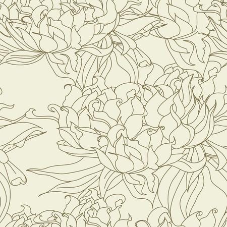 Summer seamless wallpaper Stock Vector - 6966918
