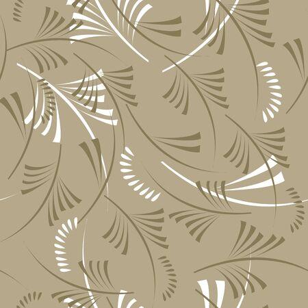 Summer seamless wallpaper  Stock Vector - 7050364