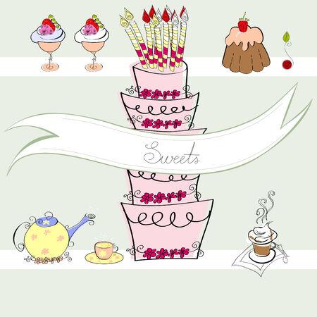 ice tea: Sweets