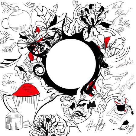 Doodle background Vector