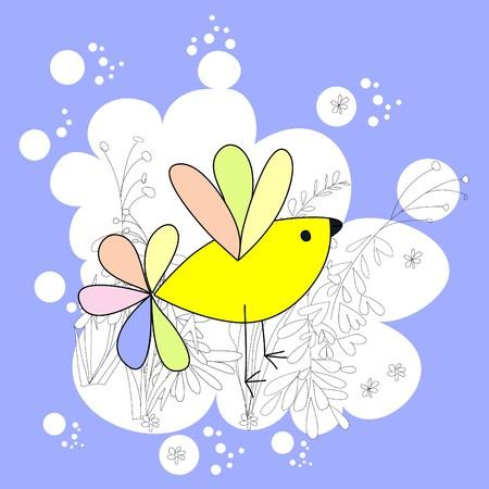 Bird Stock Vector - 7333004