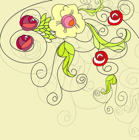 floral background Stock Vector - 7420368