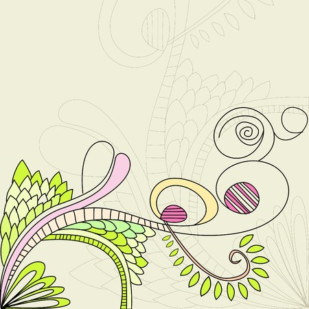 floral element Stock Vector - 7439417