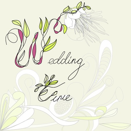 Wedding time Stock Vector - 7439411