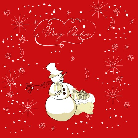 Christmas card Stock Vector - 7509251