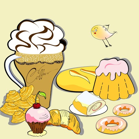 Sweets Stock Vector - 7870150