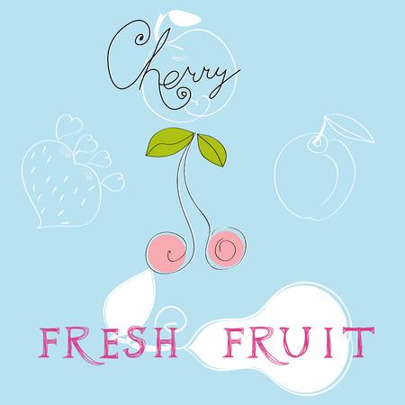 Fresh fruit Stock Vector - 7908845