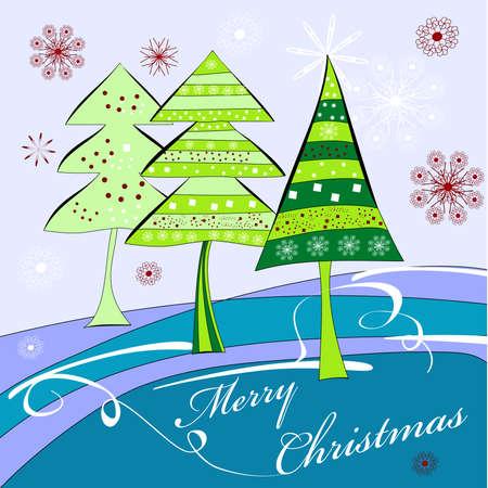 Christmas card Stock Vector - 8092268
