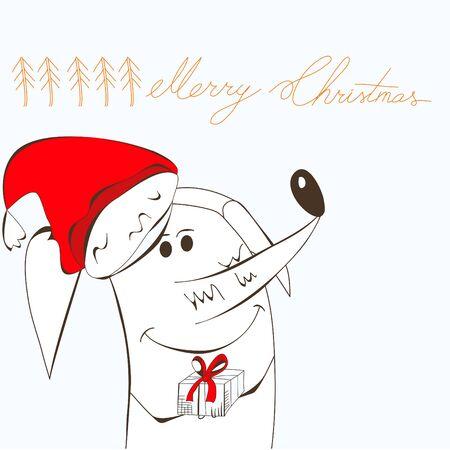 Merry christmas Stock Vector - 8380443