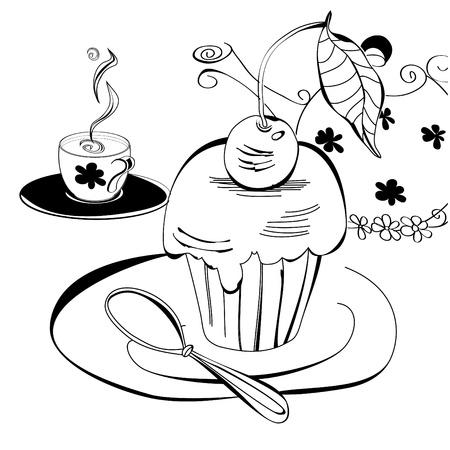 Tea time Stock Vector - 8476967
