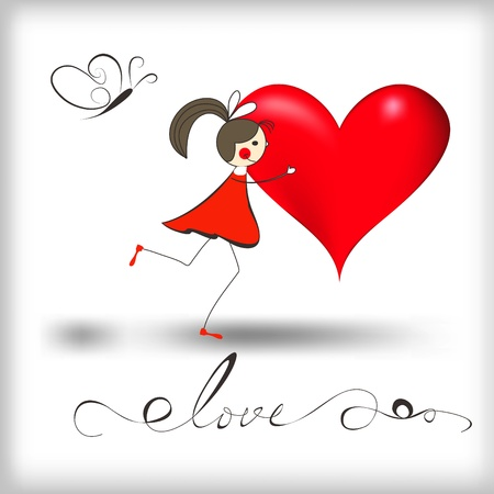 Девочка с сердцем