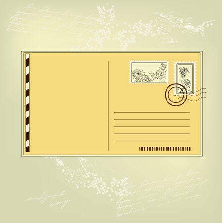 enveloppe ancienne: Carte postale