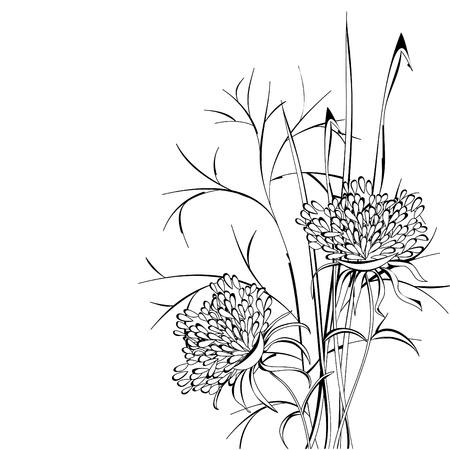 Croquis de fleurs
