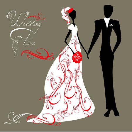 groom and bride: Wedding background