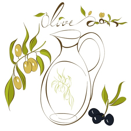 Olive Stock Vector - 8959579