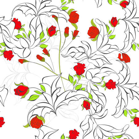 Spring seamless background Stock Vector - 9229306