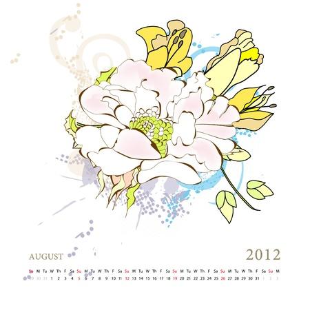 agosto: Calendario per il 2012, agosto