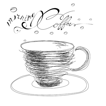 superscription: Morning coffee
