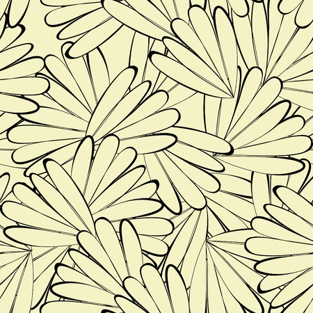 floral wallpaper: Seamless background with floral element