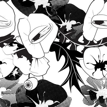 poppy pattern: Poppy Pattern
