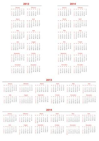 foe: Template foe calendar 2013-2014; set2