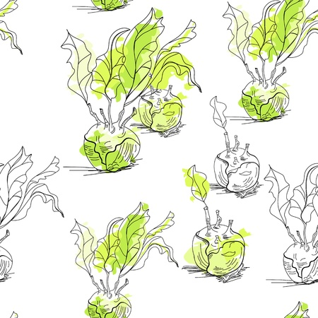 celery: Seamless pattern with celery