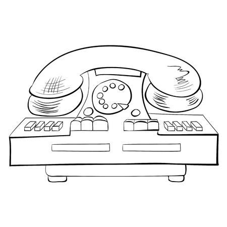 Old fashioned phone Stock Vector - 14332000