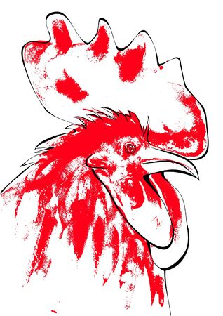 Rooster Stock Vector - 15164448