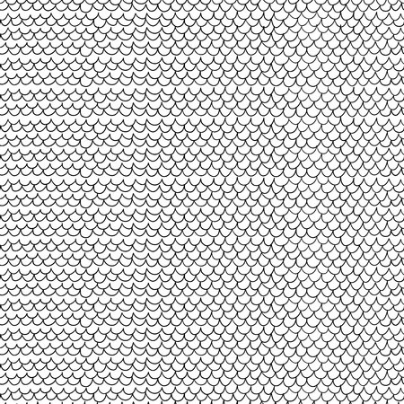 Doodle style seamless background  Vector