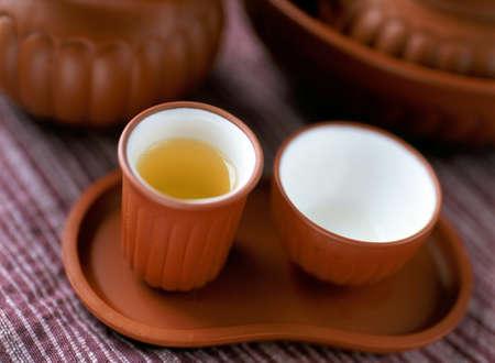 chinese tea: chinese tea set Stock Photo