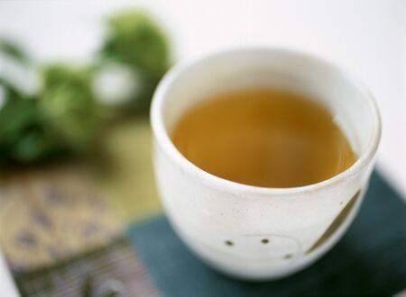 japanese tea: japanese tea Stock Photo