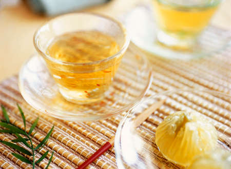 teacake: japanese iced tea Stock Photo