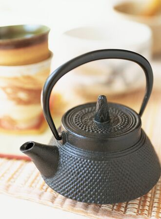 japanese tea: japanese tea pot