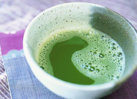 maccha: green tea Stock Photo
