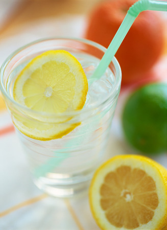 lemon water: Lemon water