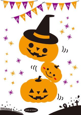 Halloween material set,Jack Orantan