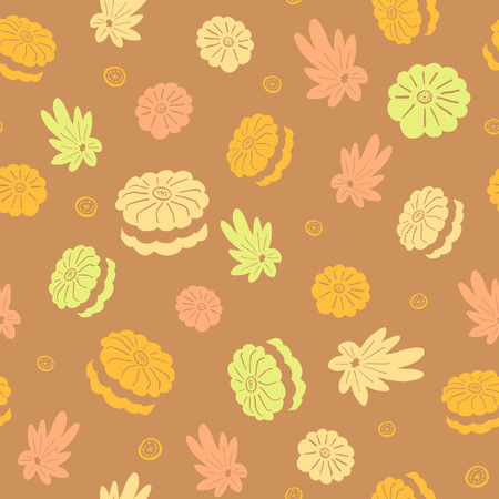 macaron pattern background for textile, fabric, packaging, kids clothes 向量圖像