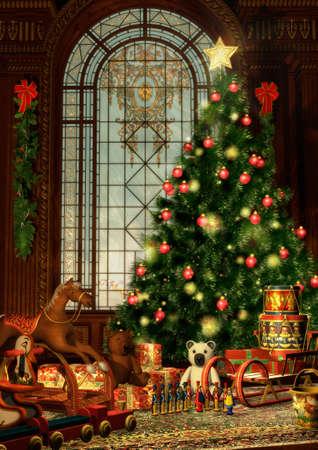 weihnachten tanne: A Christmas Tanne und Weihnachtsgeschenke