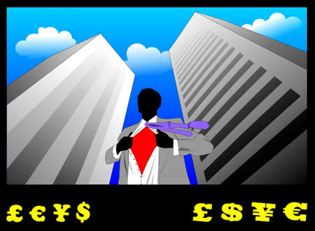 warden: Businessman Stock Photo